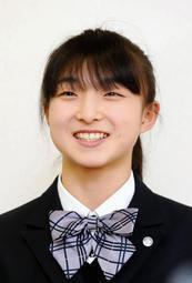 平昌冬季五輪フィギュアスケート女子で6位入賞を果たした坂本花織選手(17)=シスメックス。神戸市長田区の神戸野田高校で28日、開かれた報告会では、全校生徒ら